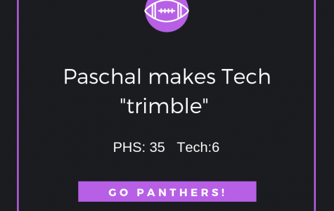 Paschal Gets Their First District Win!