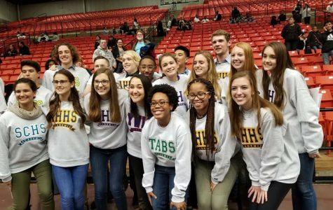 Juniors Receive Academic Sweatshirts