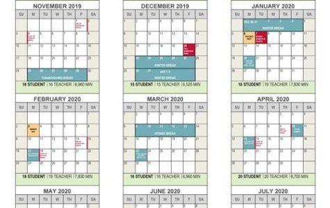 School Board Makes Calendar Decision for 2019-2020 Year