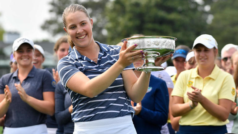 Jennifer Kupcho, the winner of the Women's Amateur