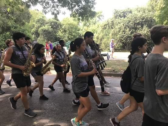The Paschal Band Marched Six Miles on Saturday. What Did You Do?