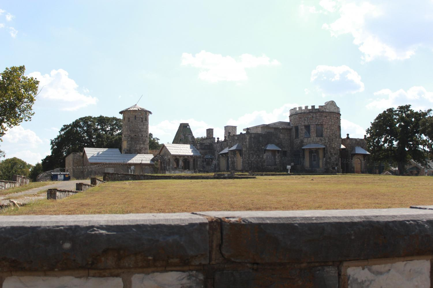 The Castle of Heron Bay overlooks Lake Worth, brimming with haunted history.