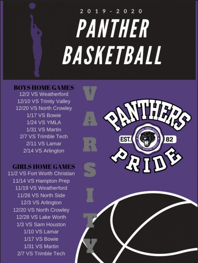 Winter Basketball Schedule