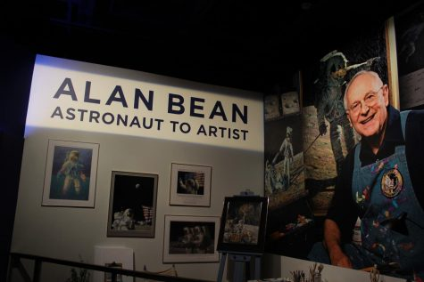 The space exhibit at the Fort Worth Museum of Science and History features the late Alan Bean and his accomplishments.