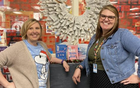 Librarians Ms. Stafford and Ms. Graham spearheaded the initiative, inviting students to reap the benefits of reading.