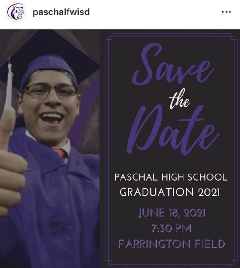 FWISD Announces Graduation Date!