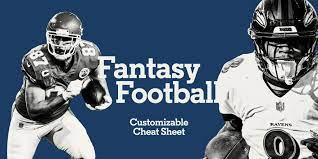 Fantasy Football: First Round, Mock Draft